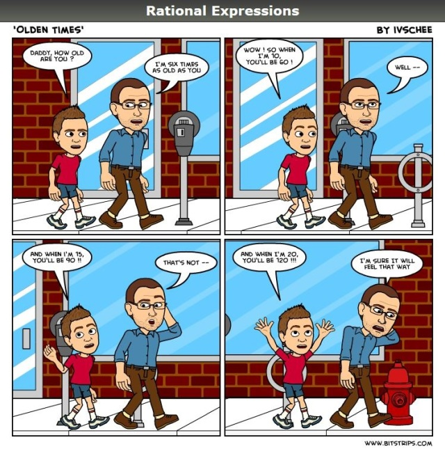 Rational Expressions – Olden Times | blue shirt khaki pants