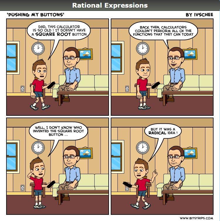 Comic strip radicals